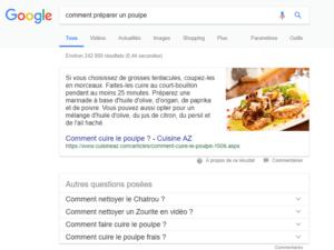 Position zero google