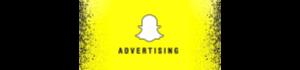 snapchat publicité payante logo 300x70
