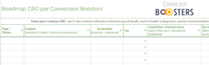 Screenshot Roadmap CB et AB testing PNG